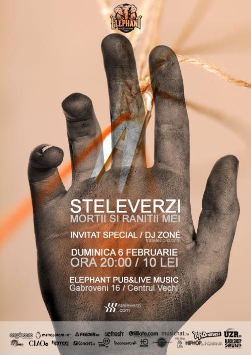 Concert / Steleverzi / Mortii si ranitii mei